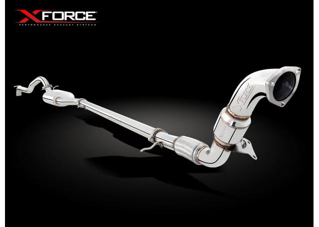 XFORCE Turbo Back Exhaust Mild Steel Xtreme fits Ford Ranger 2012+ Sparesbox - Image 2