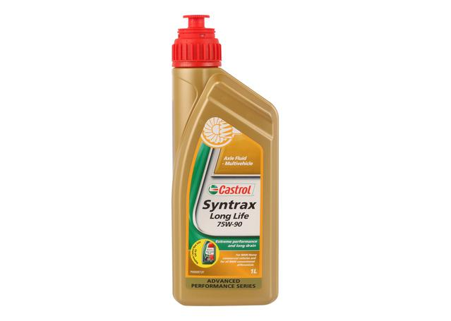 castrol syntrax 75w90 long life manual transmission fluid 1l 3377689 sparesbox. Black Bedroom Furniture Sets. Home Design Ideas