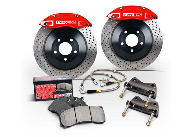 StopTech Big Brake Kit - Fits Nissan 370Z ST-60 Calipers 380x32mm Rotors Front Trophy 16-17 270535