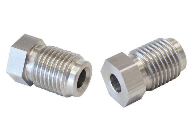 "Aeroflow AF366 S/S Inverted Flare Tube Nut 3/16"" Hard Line To M10 X 1.0mm Sparesbox - Image 1"