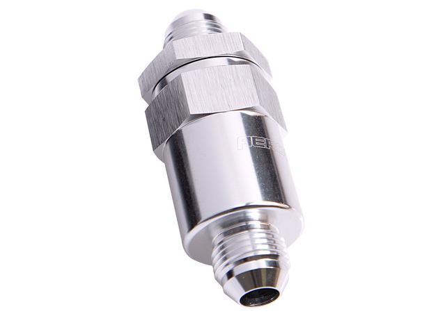 Aeroflow AF609-06S Billet Fuel Filter -6AN Bronze Filter Sparesbox - Image 1