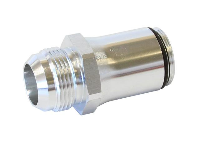 Aeroflow AF64-2074S -20an Adapter Suits All 360Deg Swivel Thermostat Housing Silver Sparesbox - Image 1