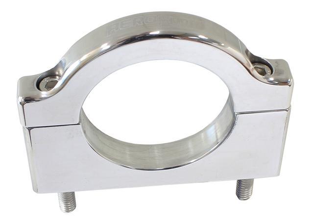 """Aeroflow AF6500-1750 Billet Bar Mount 1-3/4""""/44.45mm Polished Sparesbox - Image 1"""