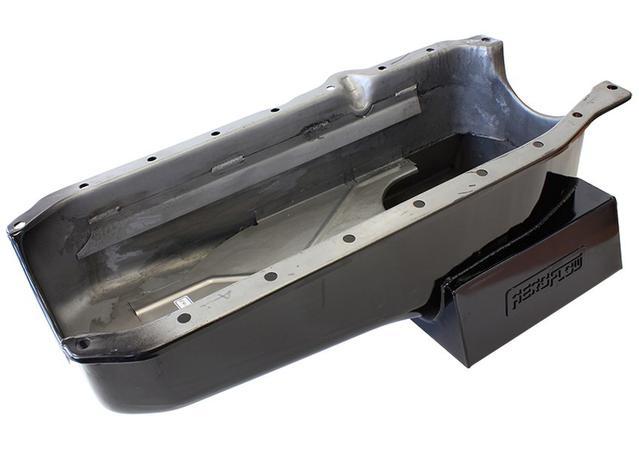 Aeroflow AF82-2201-1PC Super Oil Pan Suits Holden SBC HQ HJ HX HZ WB 1Pce  Seal R/H