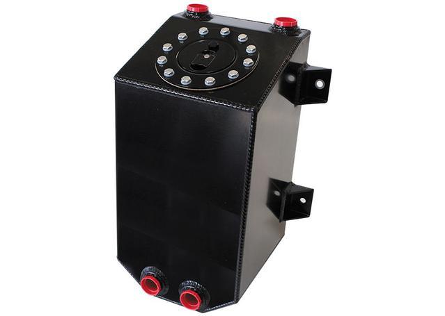 Aeroflow AF85-2030ABLK Alloy Fuel Cell 11.35 Litre Sparesbox - Image 1