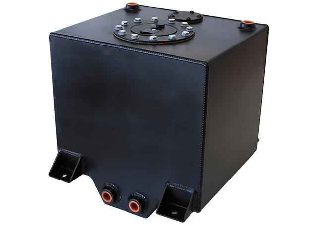 Aeroflow AF85-2050ABLK Black Alloy Fuel Cell 19 Litre Sparesbox - Image 1