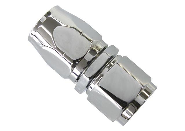 Aeroflow AF881-08 Straight Hose End -8AN Elite Cutter Style Elite Show Qualit AF881-08 Sparesbox - Image 1