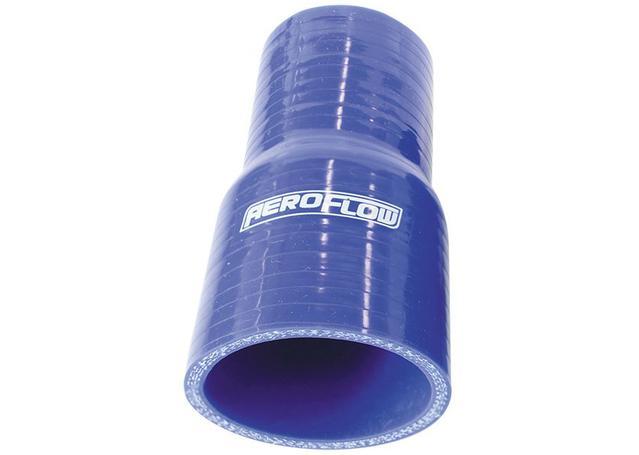 "Aeroflow AF9001-200-175 Silicone Hose Reducer Straight Blue 2.00-1.75"" 51-45mm Sparesbox - Image 1"