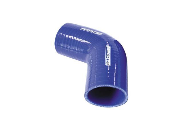 "Aeroflow AF9008-300 Silicone Hose 67 Deg; Blue  3.00"" 76mm x 125mm Leg Sparesbox - Image 1"