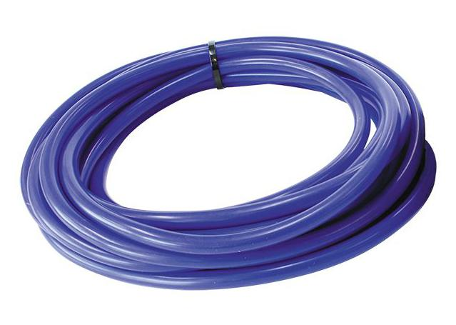 "Aeroflow AF9031-016-5 Silicone Vacuum Hose Blue I.D 5/32"" 4mm x 5 Foot 1.5M Roll Sparesbox - Image 1"