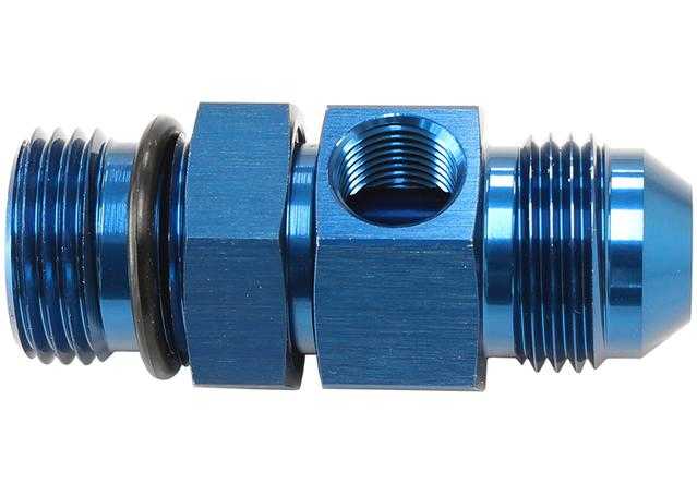 "Aeroflow AF904-06 -6orb To -6an With 1/8"" Port Blue Sparesbox - Image 1"