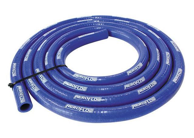 "Aeroflow AF9051-100-13 Silicone Heater Hose Blue I.D 1"" 25mm x 4m Sparesbox - Image 1"