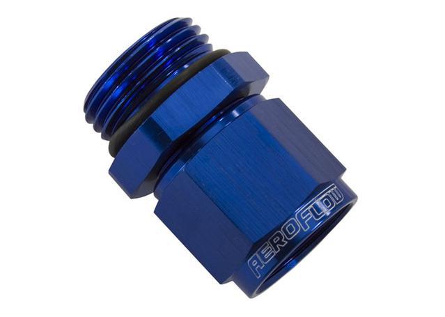 Aeroflow AF907-08-06 -6orb To Female -8 Swivel Nut Blue Sparesbox - Image 1
