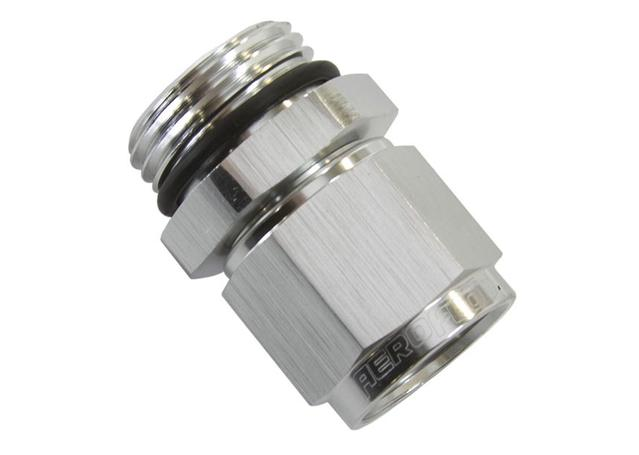 Aeroflow AF907-08-10S -1orb To Female -8 Swivel Nut Silver Sparesbox - Image 1