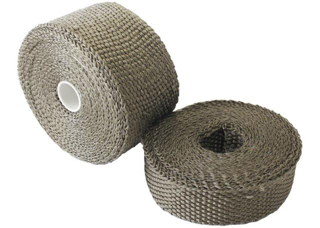 "Aeroflow AF91-3009 Exhaust Insulation Wrap2""x50Ft50 Foot Titanium Roll Sparesbox - Image 1"