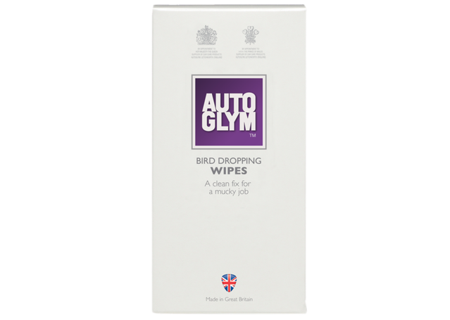Autoglym Bird Dropping Wipes AURBDWIPE10 Sparesbox - Image 1