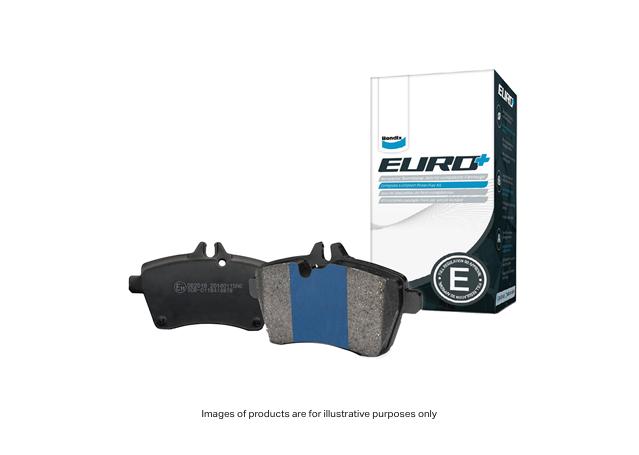 Bendix Brake Pad Set Rear EURO DB1865 EURO+  Sparesbox - Image 1