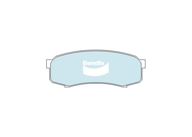 Bendix Brake Pad Set Rear 4x4 DB1200 4WD SUV Sparesbox - Image 2