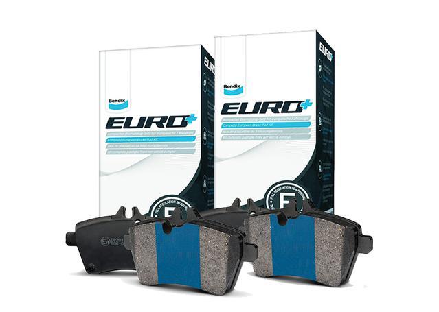 Bendix EURO Brake Pad Set Front and Rear DB1131-DB1334EURO+ Sparesbox - Image 1