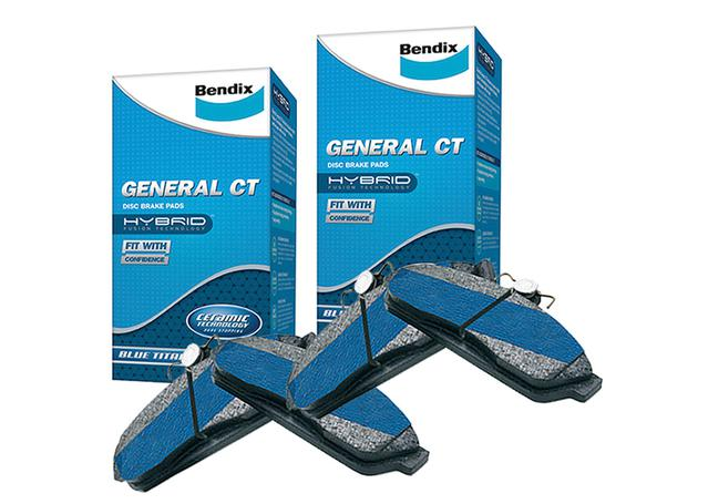 Bendix General CT Brake Pad Set Front and Rear DB1765-DB1766GCT Sparesbox - Image 1