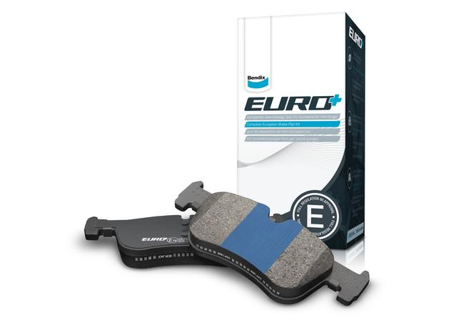 Bendix EURO Brake Pad Set Front DB1849 EURO+ Sparesbox - Image 1