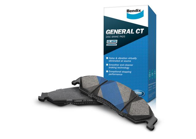 Bendix General CT Brake Pad Set Front DB1473 GCT Sparesbox - Image 1