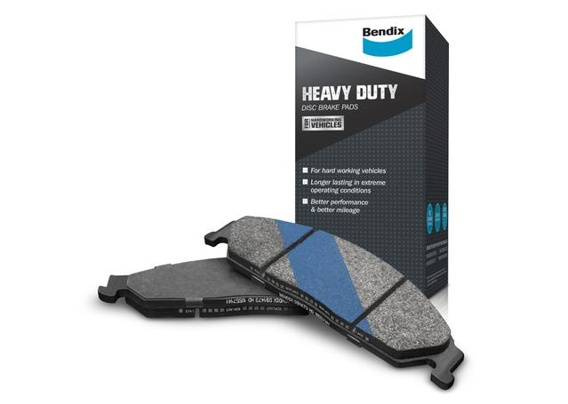 Bendix Heavy Duty Brake Pad Set Front DB1023 HD Sparesbox - Image 1