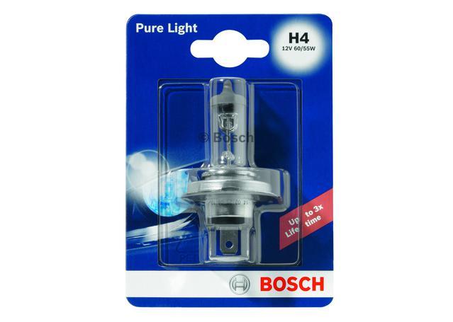 Bosch H4 Globe 12V 60/55W 0986AL1513 Sparesbox - Image 1