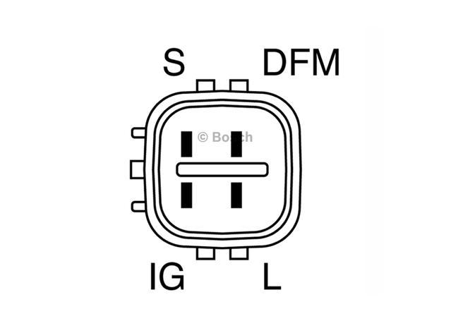 Bosch Alternator Regulator F00M145873 Sparesbox - Image 2