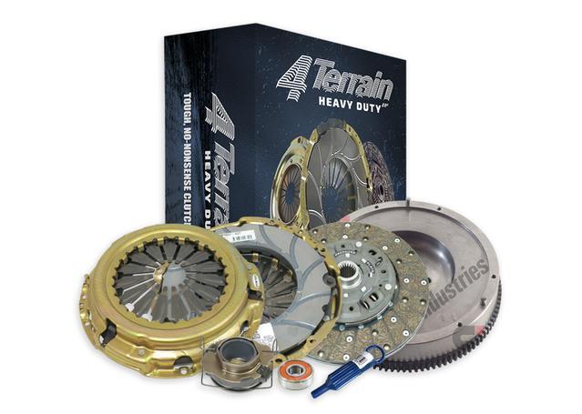 4Terrain Heavy Duty Clutch Kit Inc. CSC & FW 4TSRF3054NHD Sparesbox - Image 1