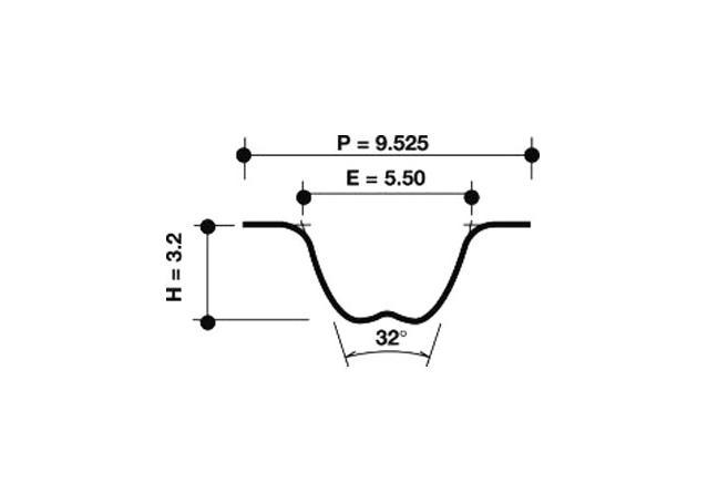 Dayco Timing Belt 941031 Sparesbox - Image 1
