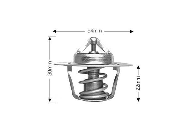 Dayco Thermostat DT14EBP Sparesbox - Image 1