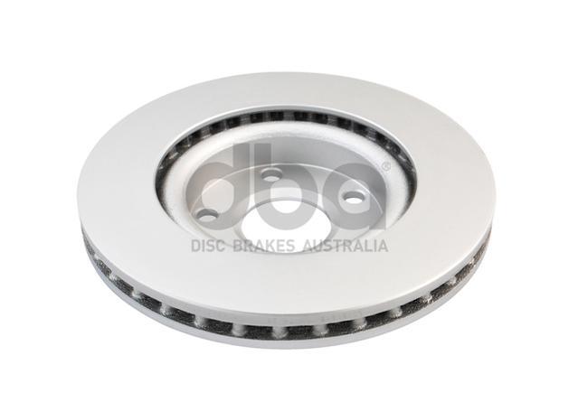 DBA En-Shield Brake Rotor Pair Front DBA2026E Sparesbox - Image 3