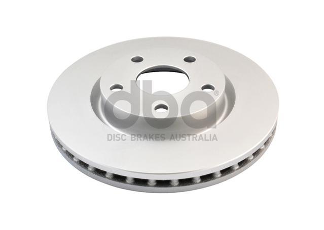 DBA En-Shield Brake Rotor Pair Front DBA2026E Sparesbox - Image 2