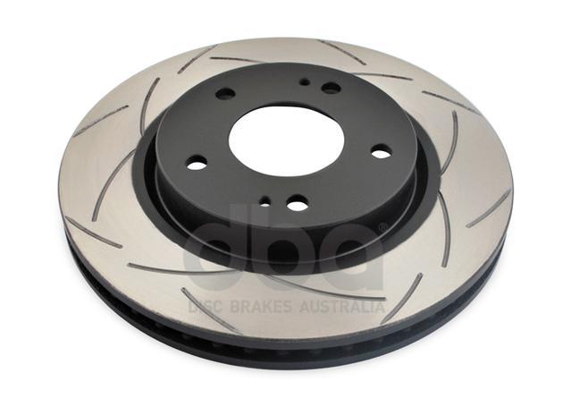 DBA Brake Rotor Slotted 4x4 T2 Pair DBA2201S Sparesbox - Image 2
