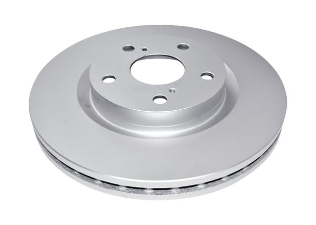 DBA En-Shield Brake Rotor Front Pair DBA2709E Sparesbox - Image 2