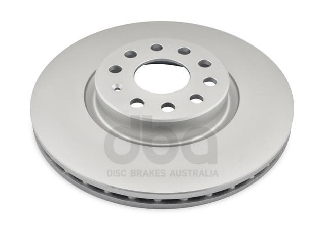 DBA En-Shield Brake Rotor Pair DBA2806E Sparesbox - Image 2