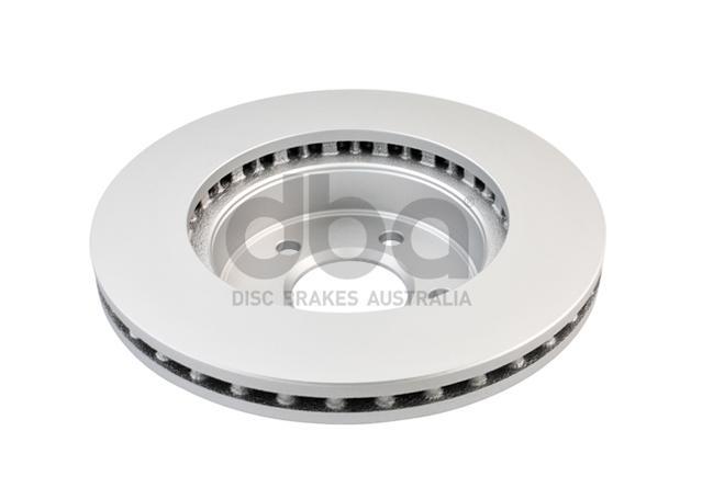DBA En-Shield Brake Rotor Front Pair DBA504E Sparesbox - Image 3