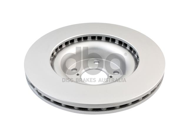 DBA En-Shield Brake Rotor Front Pair DBA650E Sparesbox - Image 3