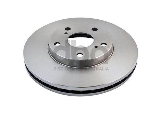 DBA Brake Rotor Front Pair DBA735 Sparesbox - Image 2