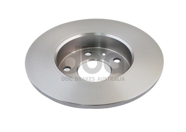DBA Brake Rotor Rear Pair DBA816 Sparesbox - Image 3