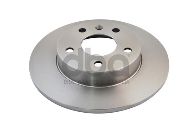 DBA Brake Rotor Rear Pair DBA816 Sparesbox - Image 2