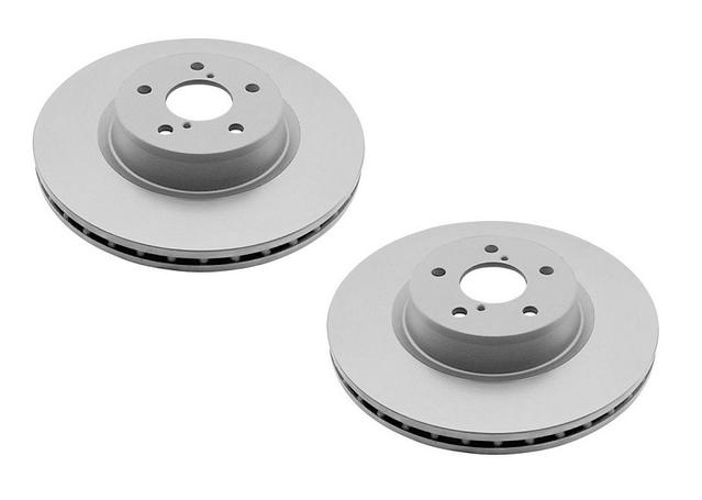 DBA En-Shield Brake Rotor Front Pair DBA040E Sparesbox - Image 1