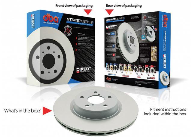 DBA Standard Brake Rotor Pair Front DBA474 Sparesbox - Image 4