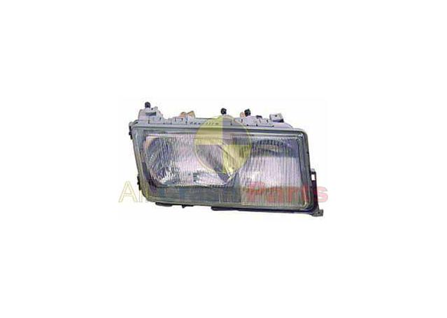 Headlight Passenger Side Fits Mercedes-Benz C Class BAD-21030LHQ Sparesbox - Image 1