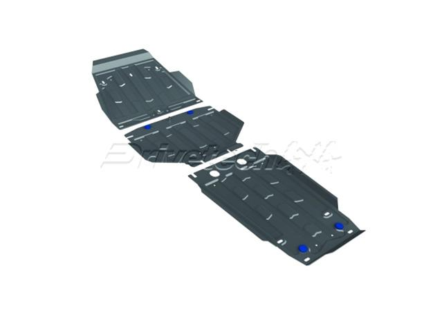 Drivetech 4x4 by RIVAL Underbody Armour fits Landcruiser 200 Series DT-UBG09 Sparesbox - Image 1
