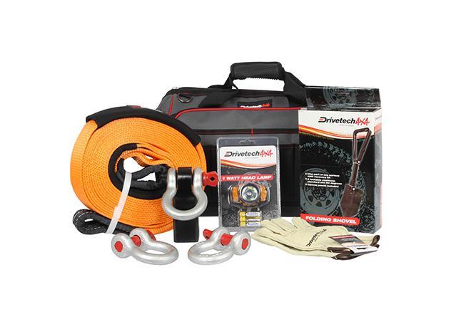 Drivetech 4x4 Jumbo 4x4 Recovery Kit DT-RKSML Sparesbox - Image 1