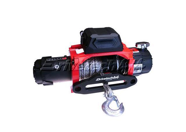 Drivetech 4x4 Dual Speed Winch 12000lb DT-D12000SR Sparesbox - Image 1