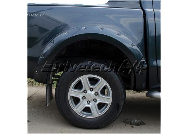 Drivetech 4x4 Offroad Flare Kit (6 Inch) fits Ford Ranger PX Sparesbox - Image 3