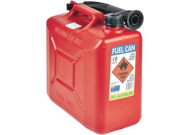 Icon Fuel Can & Flexi Pourer 10L Sparesbox - Image 1